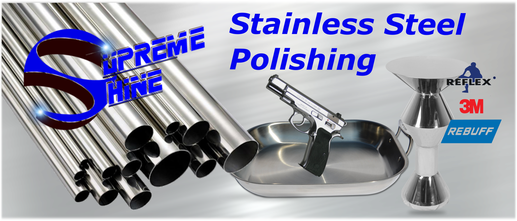 Stainless Steel Banner